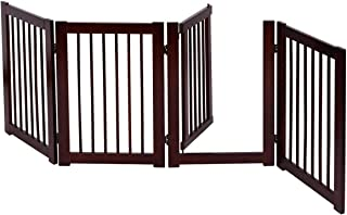 COSTWAY Barrera de Puerta de Seguridad Bebé Niño Rejilla