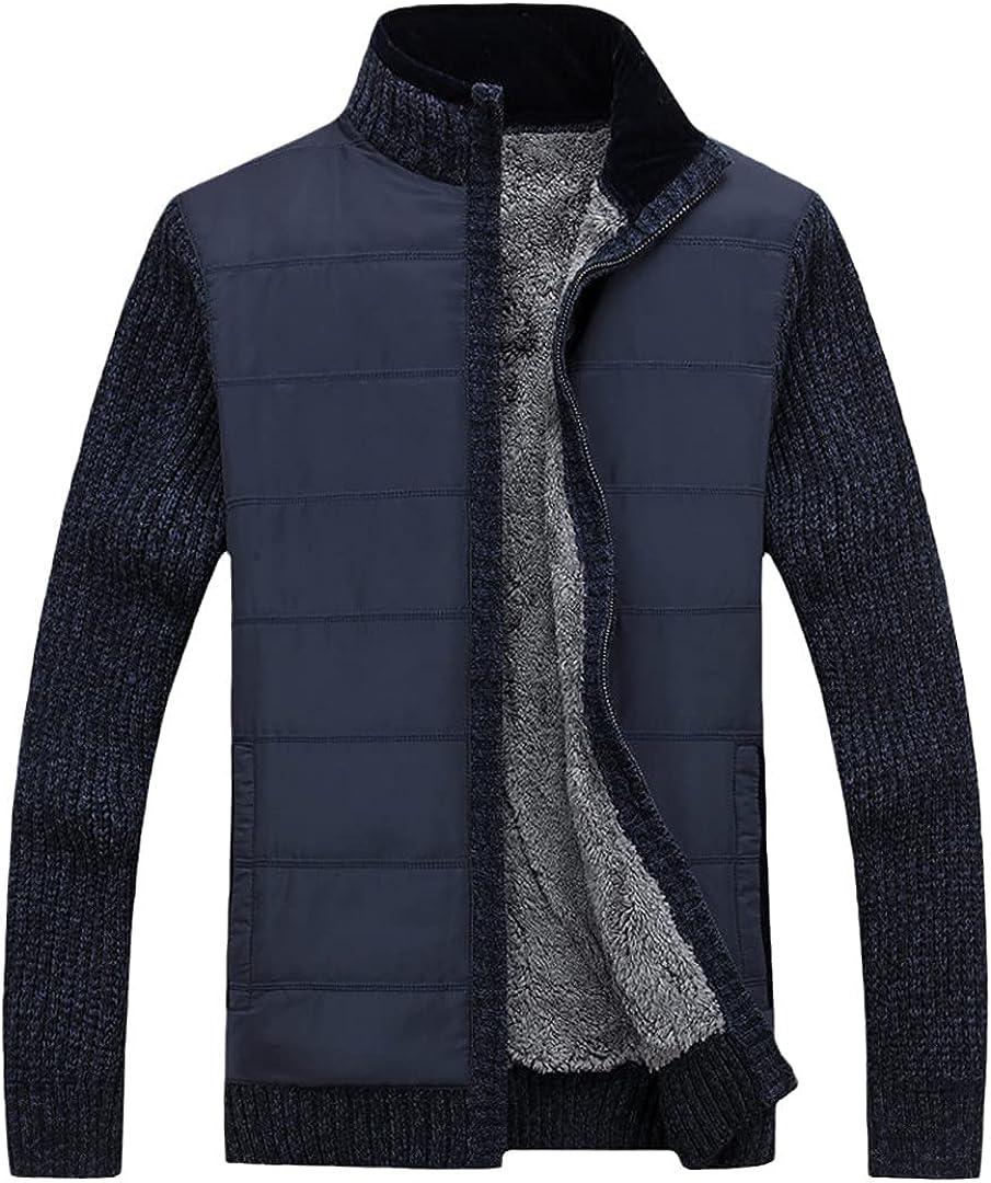 Sweater Men Cardigan Winter Knitwear Thicken Warm Men's Cardigans Sweaters Plus Size