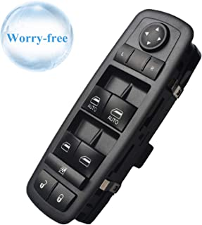 Fits 68110866AA Master Power Window Switch Replacement for 2012-2017 Dodge Grand Caravan, 2012-2016 Chrysler Town and Country, 2013-2015 Dodge Ram 1500, 2500, 3500, 4500, 5500