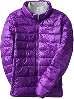 Macondoo Women's Fashion Quilted Outwear Cotton-Padded Puffer Down Jacket