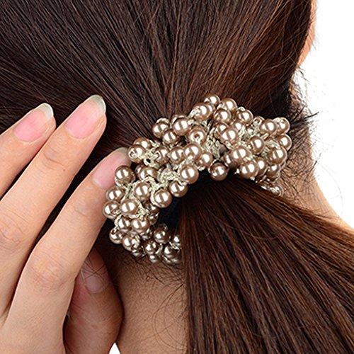 Bandeau Strass Perles Bandeau Bandeau Zopfgummi Bijoux de cheveux Coiffe
