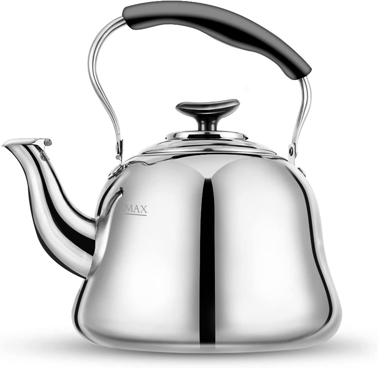 Tea Year-end annual account Kettle OFFicial Stovetop Whistling Teapot Teakettle Stainless Steel