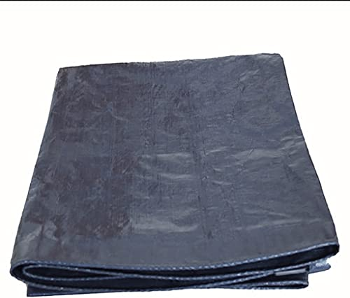 WSGZH Toile Imperméable en Polyéthylène Bache Bleu Foncé Toile Multi-Fonctionnelle Résistante à l'usure -160g   M2, épaisseur 0.3mm, 12 Tailles