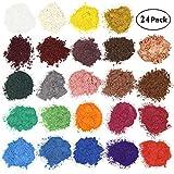 Wtrcsv Epoxidharz Farbe 25 Farben, Mica Pulver Metallic, Epoxy Resin Farbe Pigment Farbpigmente für...