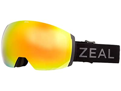 Zeal Optics Portal XL (Dark Night w/ Phoenix Mirror + Persimmon Sky Blue Lens) Goggles