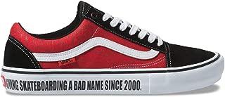 【Vans x BAKER】 バンズ 【Old Skool Pro】 Black/White/Red コラボ ベイカー ベーカー スケシュー 靴 プロモデル メンズ オールドスクールプロ スニーカー