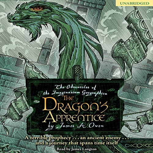 The Dragon's Apprentice audiobook cover art