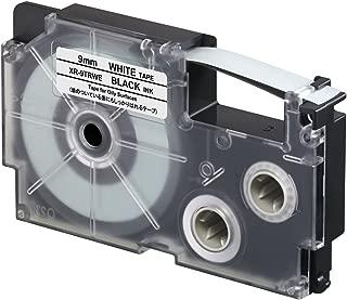 Casio XR-9TRWE Oil Resistant Tape, 5.5 m New, 0.024 kilograms