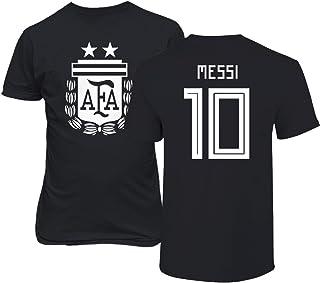 TCAMPアルゼンチン2018National Soccer # 10リオネル・メッシ世界選手権のメンズTシャツ...
