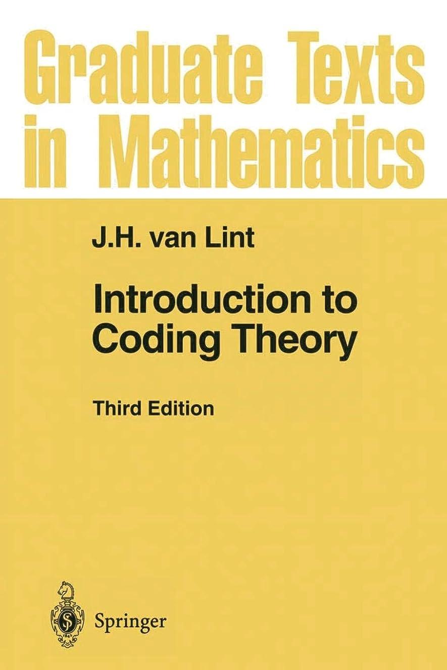 ダイヤルリビングルーム本土Introduction to Coding Theory (Graduate Texts in Mathematics)