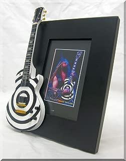 IZZI Zakk Wylde Miniature Guitar Photo Frame Bullseye