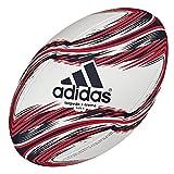 adidas - Torpedo X-Treme - Ballon de rugby - Multicolore (blanc/collegiate navy/scarlet) - Taille: 5