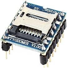 Kentop WTV020–SD Módulo de Voz de Soporte Mini Reproductor de MP3Módulo para Arduino , 20× 17× 11mm