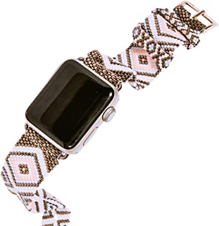 Extensible Apple Watch Plata con rosa 42/44mm | Venado Negro