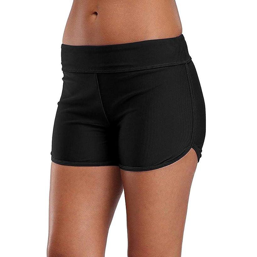 YILISA Womens Swim Shorts Long Board Shorts Boy Short High Waist Tummy Control Bottoms Tankini Swimwear Swimsuit Skirt