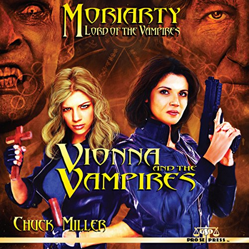Vionna and the Vampires audiobook cover art
