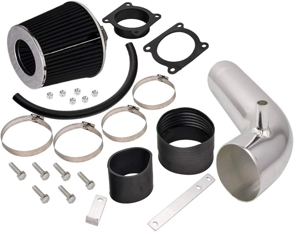 Black Short Ram Air Intake Induction 03-06 Kit 350Z Washington Mall For depot +Filter