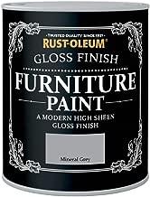 Rust-Oleum Möbellack mit Glanzfinish, Mineral Grau, 750 ml