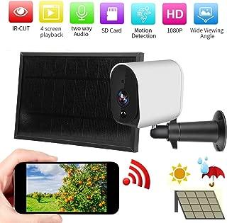SODIAL C/áMara IP WiFi de Seguimiento utom/áTico HD1080P C/áMara Dom/éStica de Seguridad Visi/óN Nocturna Tuya Smartlife Monitor de C/áMara de Red Inal/áMbrica Enchufe de la EU