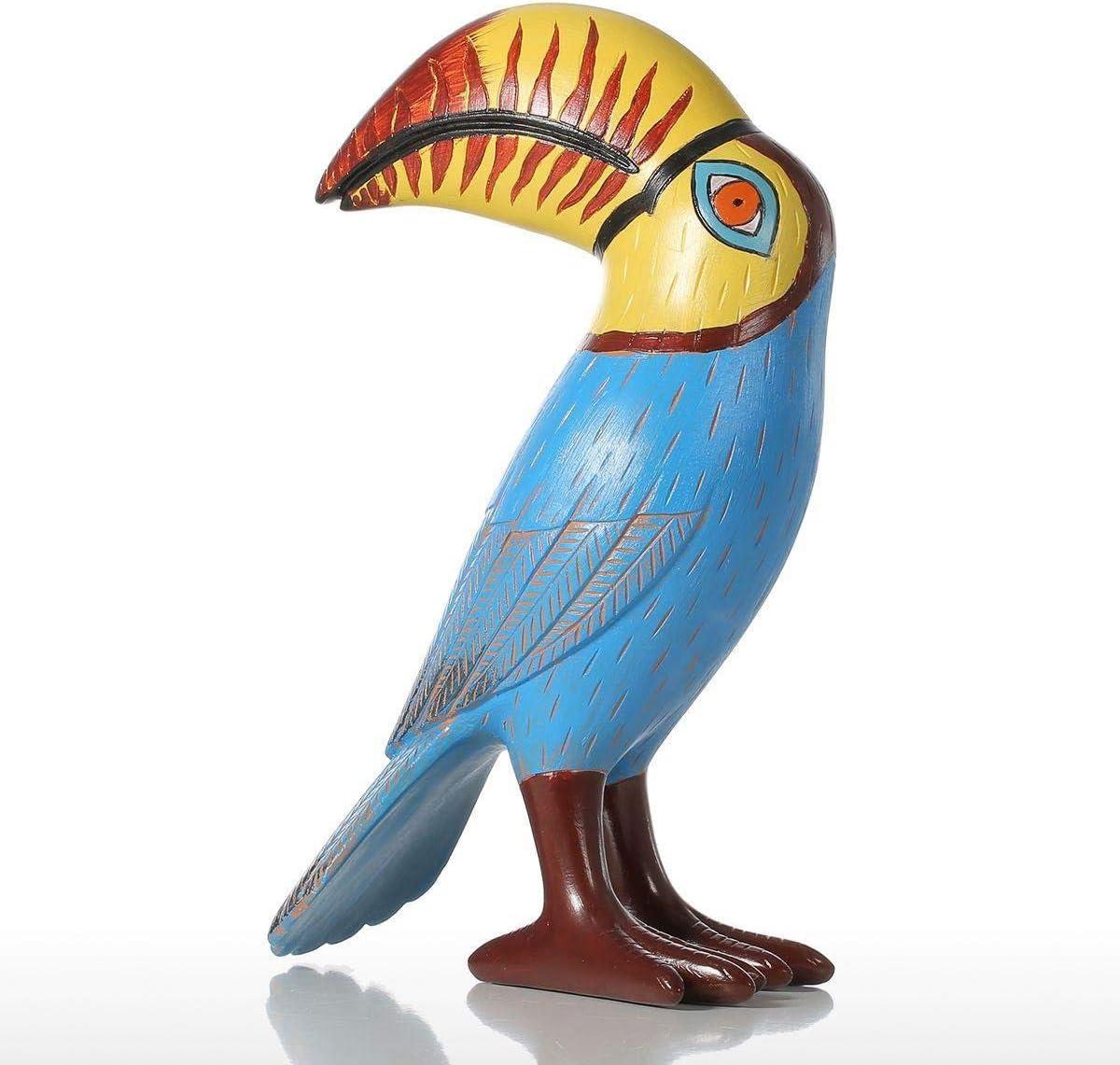 YYZWNC Toucan Bird Resin Max 75% OFF Sculpture Home Fiberglass Quantity limited Dec Ornaments
