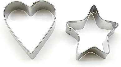 Stainless Steel Cookie Cutter (2Pc)