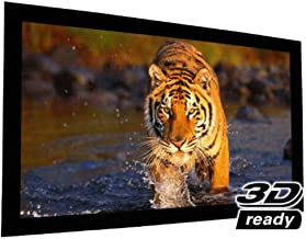 "EluneVision Reference AudioWeave 4K Fixed Frame Screen - Audio-Transparent Material - 92"" - 16:9"