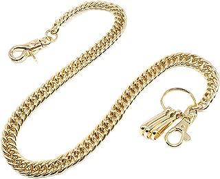 Twist Biker Key Wallet Chain Trucker Jean Pants Chain for Men Silver Black Gold 17