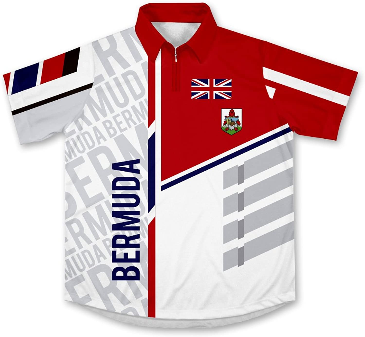 ScudoPro Bermuda Technical Polo Shirt for Men and Women