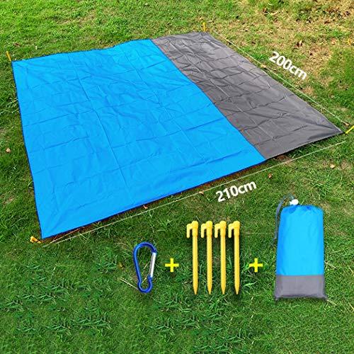 Stranddecke Picknickdecke Sandfreie Strandmatte Wasserdicht Leicht Tragbare Taschendecke Übergroße Picknickdecke Campingmatte Für Outdoor Garden Park Grass Travel Wandern