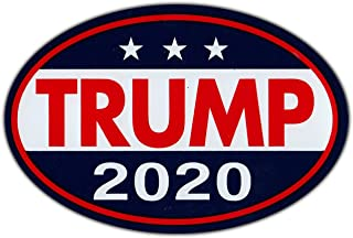 Bonus Creation Oval Shaped - Donald Trump for President 2020 - Republican Party Bumper Sticker - 6