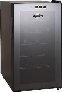 Koolatron WC18-MG18-Bottle Freestanding Dual-Zone Tower Wine Cellar