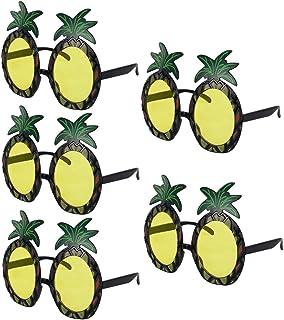 kilofly Pineapple Sungl Hawaiian Luau Summer Pool Party Favor Photo Props