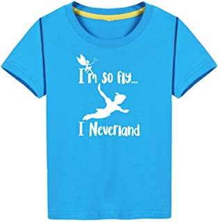Brand88 Im so Fly I Neverland Kids Baseball Tee