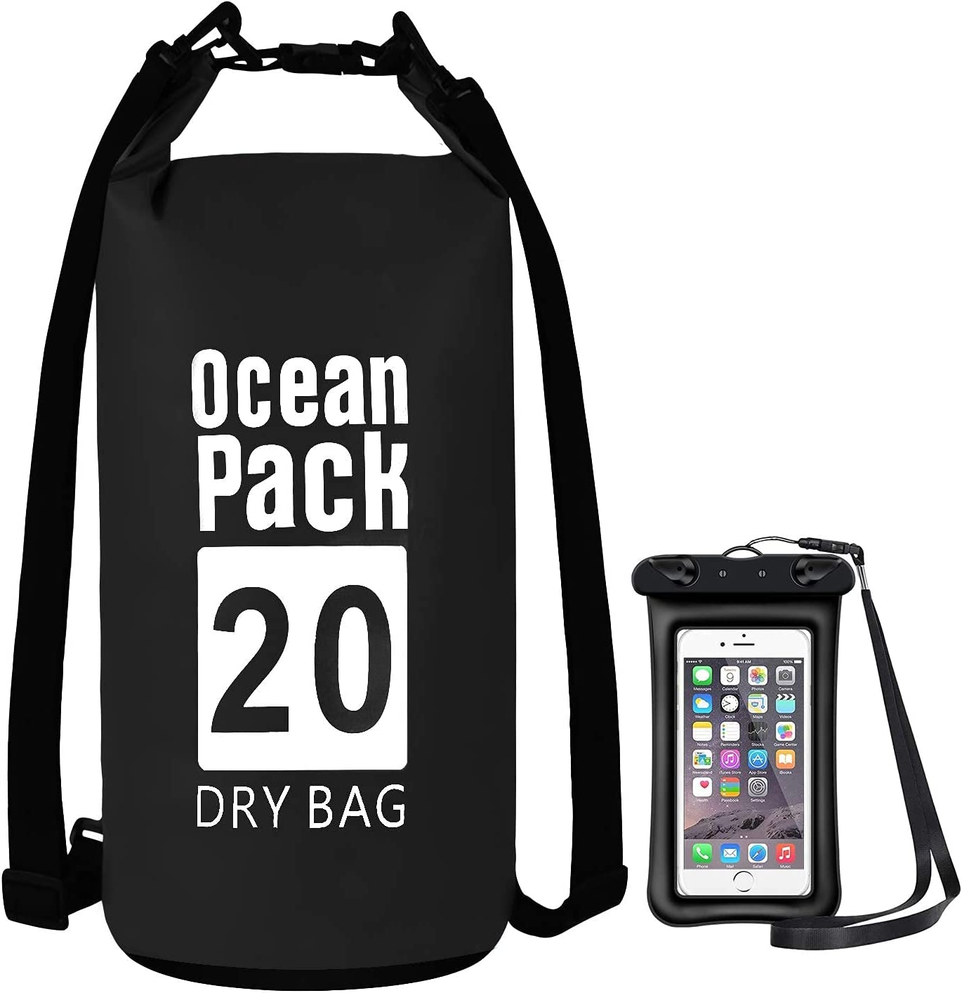 YWSPECIAL4U Waterproof Dry Bag with Phone Large special price !! Case 15L St 5L 20L Store 10L