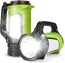 Odoland Ultra Bright 1200 Lumen LED Camping Lantern Rechargeable with Brightness Adjustment, 2600mAh Power Bank of 5 Light Modes, Portable Lantern Flashlight for Hurricane Emergency