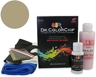 Dr. ColorChip Jeep Wrangler Automobile Paint - Light Khaki Metallic JC/PJC - Squirt-n-Squeegee Kit
