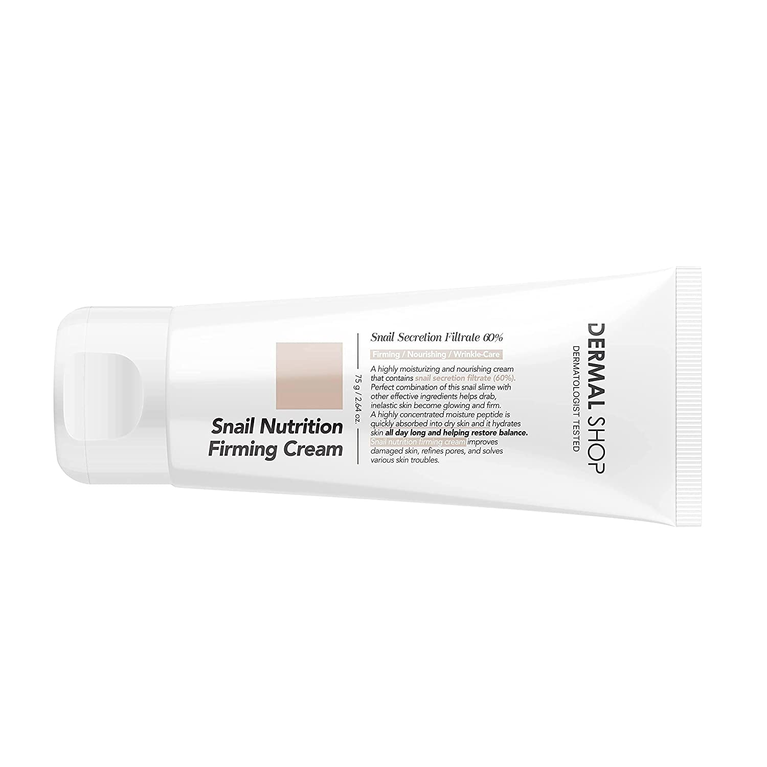 DERMAL KOREA Snail Animer and price revision Nutrition Firming Simple Cream. Portable It is very popular Fa