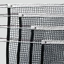 mit Stahlseil Nylon 1,2 mm schwarz Donet Badminton-Turniernetz