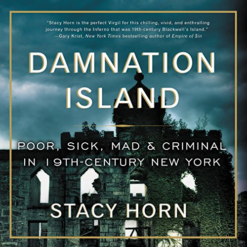 Damnation Island audiobook cover art