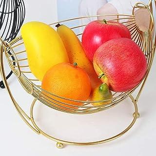 Panier de fruits, panier de rangement de collations, plateau de fruits à domicile, panier de rangement de collations de bu...