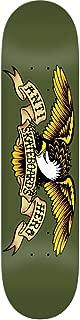 Anti Hero Classic Eagle Skateboard Deck (Green,  8.38)