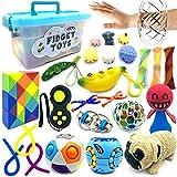 Exun Sensory Fidget Toys Set, 25 Pcs Stress...