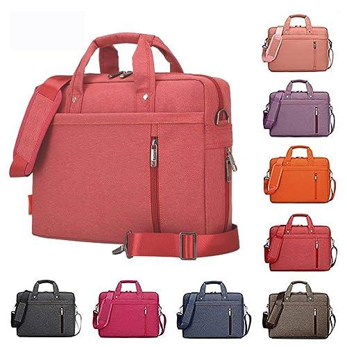 Samaz Laptop Bag Nylon Shakeproof Laptop Messenger Shoulder Bag Laptop Sleeve Cover Briefcase with Shoulder Strap