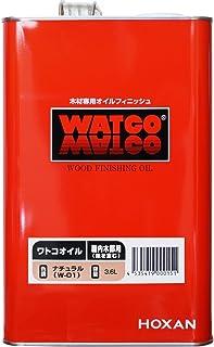 ワトコオイル ナチュラル W-01 3.6L