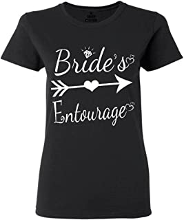 Bride's Entourage Women's T-Shirt Wedding Shirts