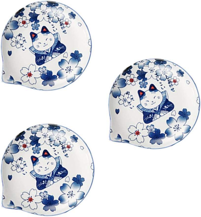 Hemoton 3pcs Ceramic online Special price shopping Sauce Dish Serving Bowls Dip Seasoning