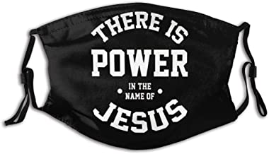 819 Dust There is A Power in The Name of Jesus Personalized Mouth Sleeve Reusable Mouth Guard