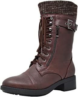 Best womens combat boots size 11 wide Reviews