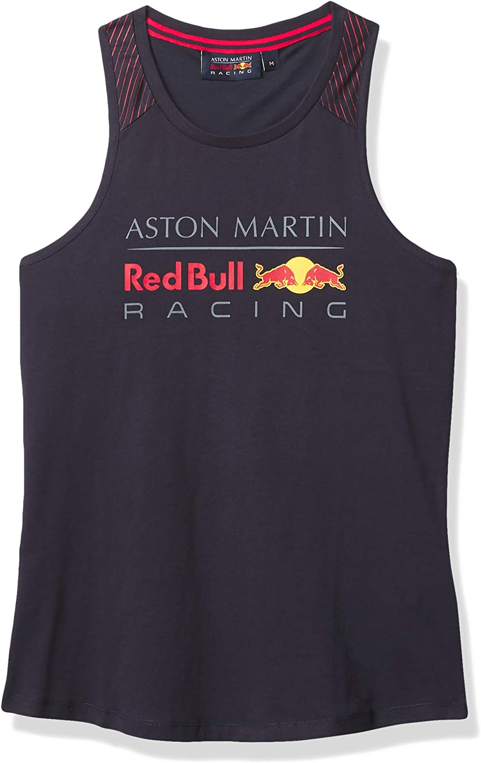 Formula 2021 spring and summer new 1 Women's Tank Top Aston Red S Martin Very popular! Bull Navy Racing