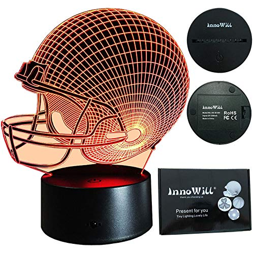 InnoWill LED Lamp Fútbol americano Casco Regalo